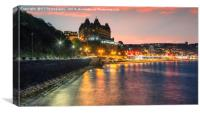 High Tide at South Bay, Scarborough, Canvas Print