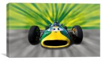 Lotus F1, Canvas Print