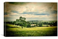 Toot Hill, Canvas Print