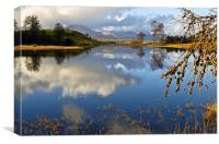 Wise Een Tarn, Canvas Print