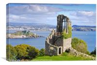 The Folly - Mount Edgcumbe, Canvas Print