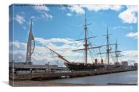 HMS Warrior, Canvas Print