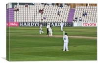 Cricket Match Hampshire, Canvas Print