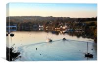 Coming Home To Mylor Bridge, Canvas Print