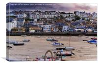 St. Ives At Dusk, Canvas Print