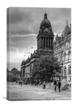 Leeds Town Hall canvas prints, wall art for sale
