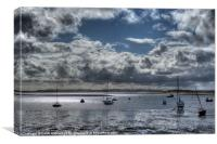 Lindisfarne View #2, Canvas Print
