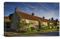 Gillamoor Cottages, Canvas Print