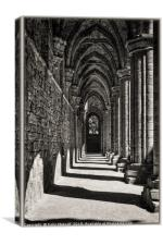 The Cloister, Canvas Print