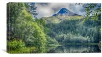 Pap Of Glencoe, Canvas Print