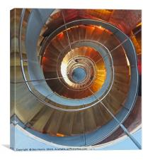 The Lighthouse Stairs, Canvas Print