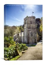 St. Just In Roseland, Cornwall, Canvas Print