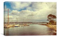 Mylor, Cornwall, Canvas Print