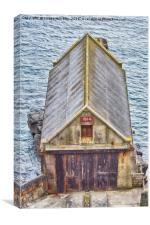 The Old Lizard Point Lifeboat Station, Cornwall, Canvas Print