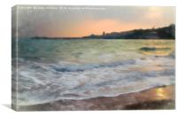 Swanage Bay and Pier Sunrise, Canvas Print