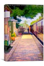 Holt Station, Norfolk, Canvas Print