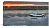 At The End of The Day, Canvas Print