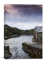 Boscastle Evening, Canvas Print