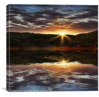 End of the Day, Canvas Print