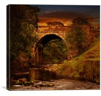 Alport Bridge, Canvas Print