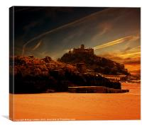 Chapel Rock, Canvas Print