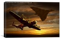 Legends of the Sky, Canvas Print