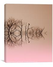 Branches and Birds, Canvas Print