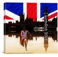 London Olympics 2012, Canvas Print