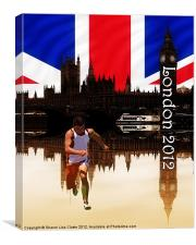London olympics (portrait), Canvas Print