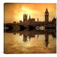 London Art, Canvas Print