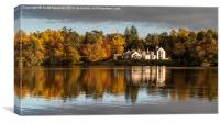 Lochnabo Reflection, Canvas Print