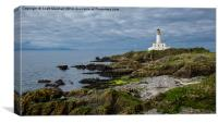 Turnberry on the Rocks, Canvas Print