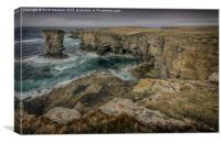 Yesnaby Castle Orkney, Canvas Print