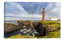 Butt of Lewis Lighthouse, Canvas Print