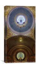 Spanish Synagogue, Canvas Print