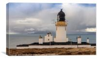 Dunnet Head Lighthouse Squall, Canvas Print