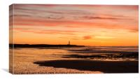 An Easter Sunset, Canvas Print