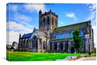 Paisley Abbey, Canvas Print