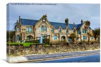 Garrison House Millport, Canvas Print
