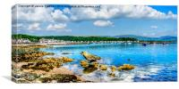 Millport Seaside, Canvas Print