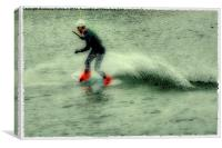 Wakeboarder, Canvas Print