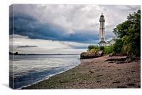 West Lighthouse  , Canvas Print