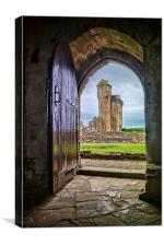 Crossraguel Abbey Tower House , Canvas Print