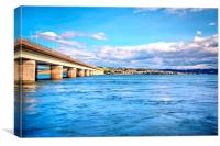 Tay Bridge , Canvas Print