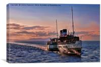 The Waverley, Canvas Print