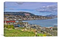 Dunoon, Canvas Print