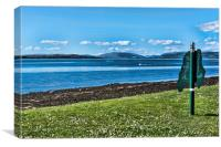 Isle of Cumbrae, Canvas Print