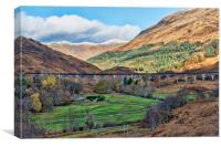 Glenfinnan Viaduct , Canvas Print