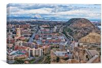 Alicante , Canvas Print