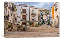 Alicante Street , Canvas Print